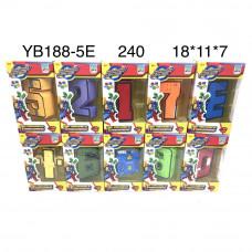YB188-5E Цифры-Трансформеры, 240 шт. в кор.