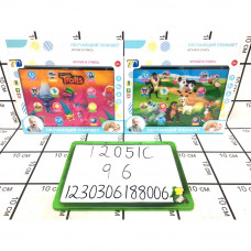 Интерактивный обучающий планшет (свет, звук), 96 шт. в кор. 12051C