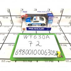 Машинка Полиция (свет, звук), 72 шт. в кор. WY630A