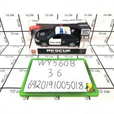 Машинка Полиция (свет, звук), 36 шт. в кор. WY560B