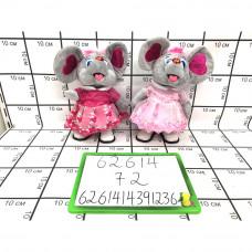 Мягкая игрушка Мышка (муз.), 72 шт. в кор. 62614