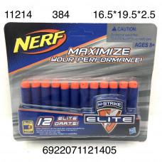 11214 Мягкие пульки для бластера 12 шт. в наборе, 384 шт в кор.