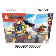 66053 Конструктор Герои из кубиков 8 шт. в блоке, 128 шт. в кор.