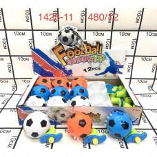1425-11  Мячик с запуском 12 шт в блоке, 480 шт в кор.