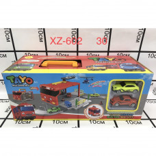 XZ-602 Парковка + Модельки Тайо 30 шт в кор.