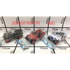 J0095/M/P/R Машинка в пакете 360 шт в кор.