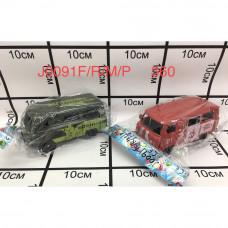 J0091F/R/M/P Машинка в пакете 360 шт в кор.