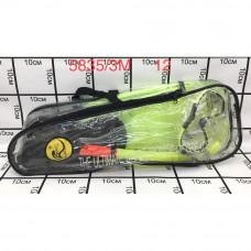 5835/3M Набор для подводного плавания Ласты, маска, трубка. 12 шт в кор.