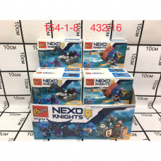 154-1-8 Конструктор Нексо 16 шт в блоке, 432 шт в кор.