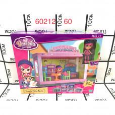60212 Куклы с набором мебели, 60 шт. в кор.
