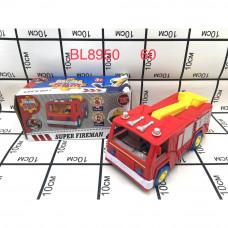 BL8950 Пожарная машинка 60 шт в кор.