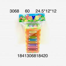 3068 Игрушка для малышей Ксилофон 3+, 60 шт. в кор.