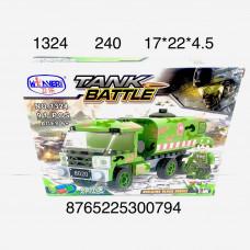 1324 Конструктор Война 91 дет., 240 шт. в кор.