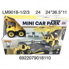 LM9018-1/2/3 Конструктор Строительные машинки с отвёрткой, 24 шт. в кор.