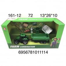 161-12 Трактор с прицепом и аксессуарами, 72 шт. в кор.