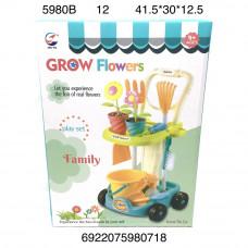 5908B Набор для выращивания цветов, 12 шт. в кор.
