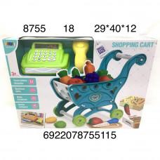 8755 Игровой набор Магазин с кассой, 18 шт. в кор.