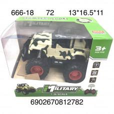 666-18 Машина джип военный Р/У, 72 шт. в кор.