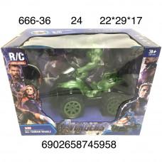 666-36 Супергеро Халк на мотике Р/У, 24 шт. в кор.