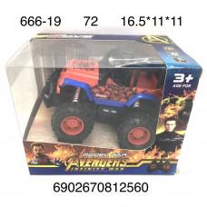 666-19 Машина Паук Р/У, 72 шт. в кор.