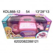 KDL888-12 Игровой набор Касса, 54 шт. в кор.