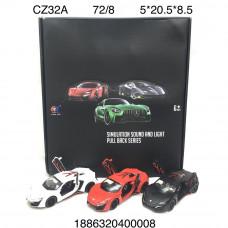 CZ32A Машинки ламборджини (металл) 8 шт. в блоке, 72 шт. в кор.