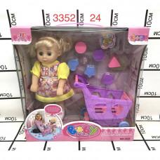 3352 Кукла с аксессуарами, 24 шт. в кор.