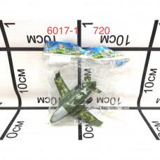 6017-1 Самолёт в пакете, 720 шт. в кор.