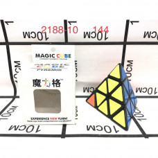 2188-10 Кубик-Рубик треугольник, 144 шт. в кор.