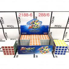 2188-6 Кубик-Рубик 6 шт. в блоке, 288 шт. в кор.