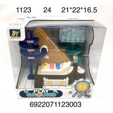 1123 Конструктор с отверткой Горка 24 шт в кор.