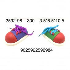 2592-98 Кросы шнуровка, 300 шт. в кор.