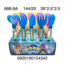 688-9A Мыльные пузыри Лопатки 20 шт. в блоке, 144 шт. в кор.