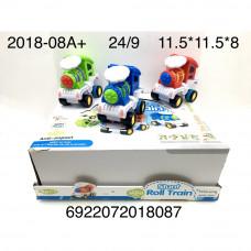 2018-08A+ Паровозик 9 шт. в блоке, 24 шт. в кор.