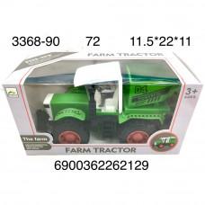 3368-90 Трактор ферма, 72 шт. в кор.