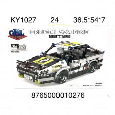 KY1027 Конструктор Машина 462 дет., 24 шт. в кор.
