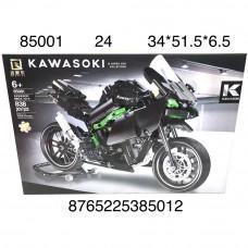 85001 Конструктор Мотоцикл 838 дет., 24 шт. в кор.