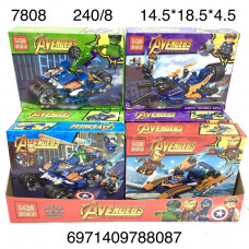 7808 Конструктор Супергерои 8 шт. в блоке,30 блоке в кор.