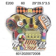 E200 Маникюрный набор Кукла в шаре, 60 шт. в кор.