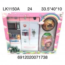 LK1150A Кухонный набор Pet Dolls, 24 шт. в кор.