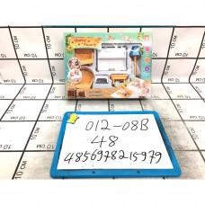 """Счастливая семья """"Набор мебели"""", 48 шт. в кор. 012-08B"""