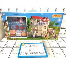Счастливая семья большой набор, 6 шт. в кор. 012-10