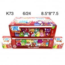 K73 Игрушки Kitten 24 шт. в блоке, 6 шт в кор.