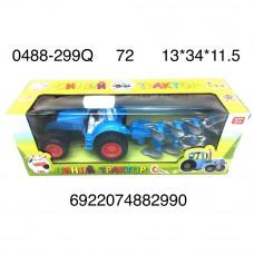 0488-299Q Синий трактор 72 шт в кор.