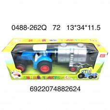 0488-262Q Синий трактор 72 шт в кор.