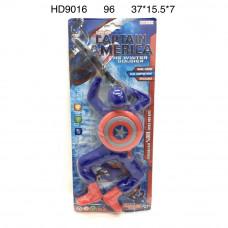 HD9016 Супергерой Капитан на батарейках, 96 шт. в кор.