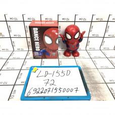 Супергерой паук, танцует, свет, звук 72 шт в кор. LD-155D