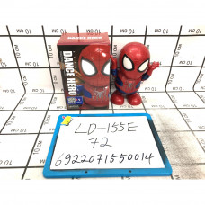 Супергерой паук, танцует, свет, звук 72 шт в кор. LD-155E