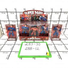 Фигурки Супергерои 12 шт. в блоке, 288 шт. в кор. 283-30