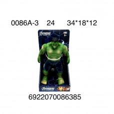 0086A-3 Супергерои Халк 24 шт в кор.